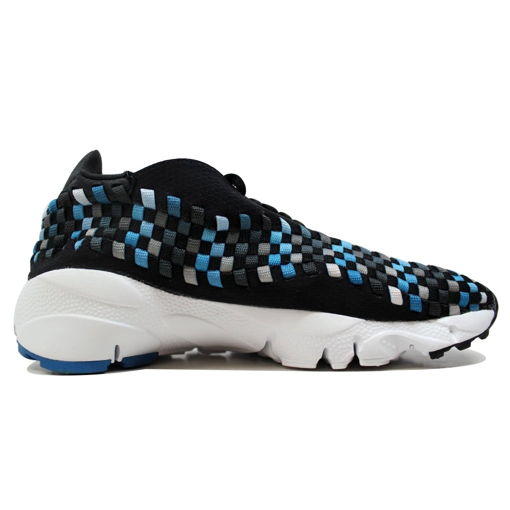 brand new ed512 81744 Shop Nike Air Footscape Woven NM Black Blue Jay-White 875797-005 Men s - On  Sale - Free Shipping Today - Overstock - 20129260
