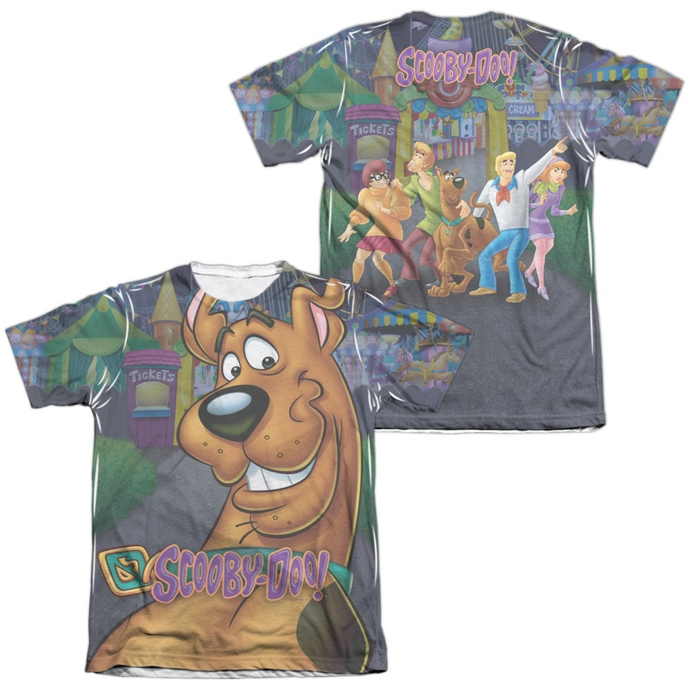 Shop Scooby Doo Big Dog (Front Back Print) Mens Sublimation Poly Cotton  Shirt - On Sale - Free Shipping On Orders Over  45 - Overstock - 27139689 1000d733c