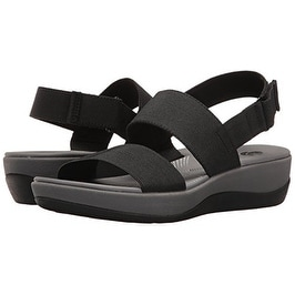 74053144bd2f Shop CLARKS Women s Arla Jacory Wedge Sandal - Free Shipping On Orders Over   45 - Overstock.com - 20971338