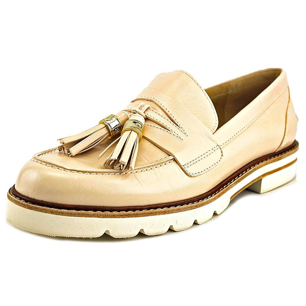 6107ca20fd1 Shop Stuart Weitzman Manila Moc Toe Leather Loafer - Free Shipping Today -  Overstock - 17837001