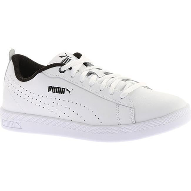 Shop PUMA Women s Smash V2 L Perf Sneaker PUMA White PUMA White - On ... 9e0f471e21