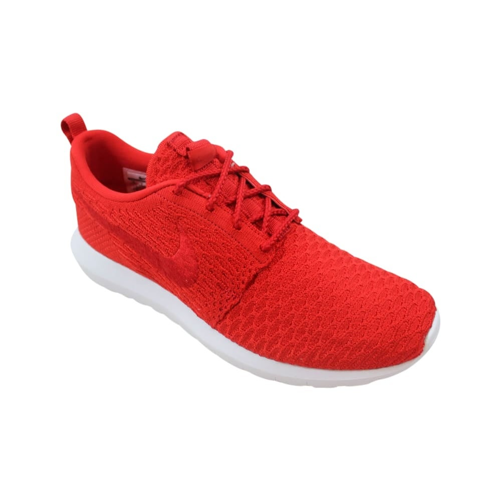 buy popular 0e9e0 8346f Shop Nike Roshe NM Flyknit University Red University Red-White 677243-603  Men s - Free Shipping Today - Overstock - 27993547