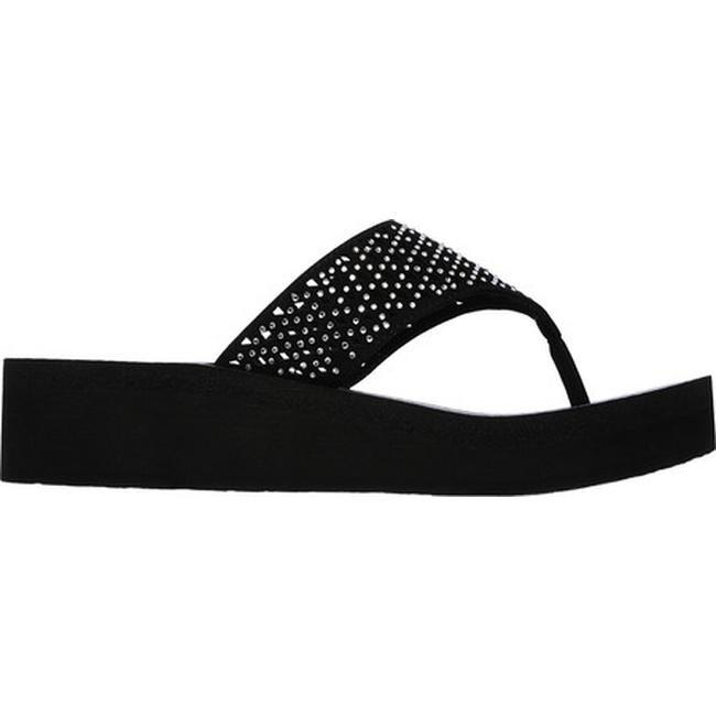 8e54b98f6374 Shop Skechers Women s Vinyasa Flow Flip-Flop Black - On Sale - Free  Shipping On Orders Over  45 - Overstock - 13819164