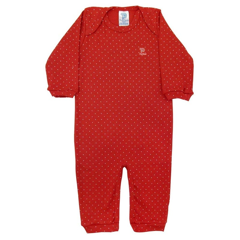 06729c30dd0 Shop Baby Jumpsuit Unisex Romper Long Sleeve Pulla Bulla Sizes 0-18 Months  - Free Shipping On Orders Over  45 - Overstock - 12900103