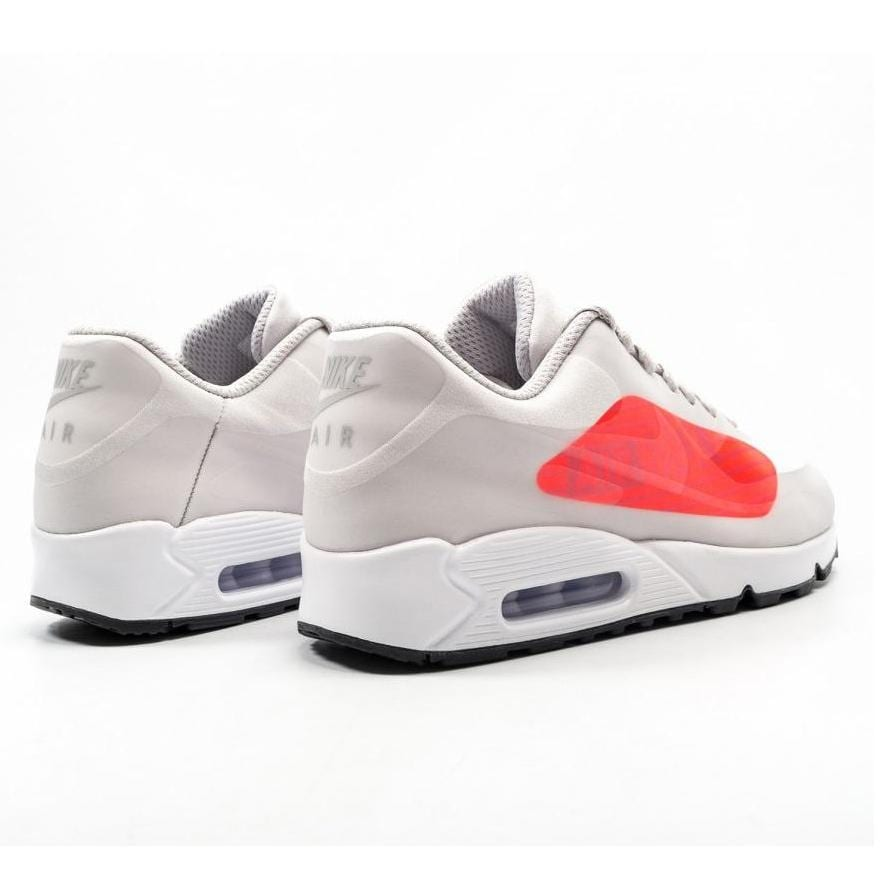 check out 9cbc7 efbe3 Shop Nike Men s Air Max 90 NS GPX Neutral Grey Bright Crimson (AJ7182 001)  - Free Shipping Today - Overstock - 25572697