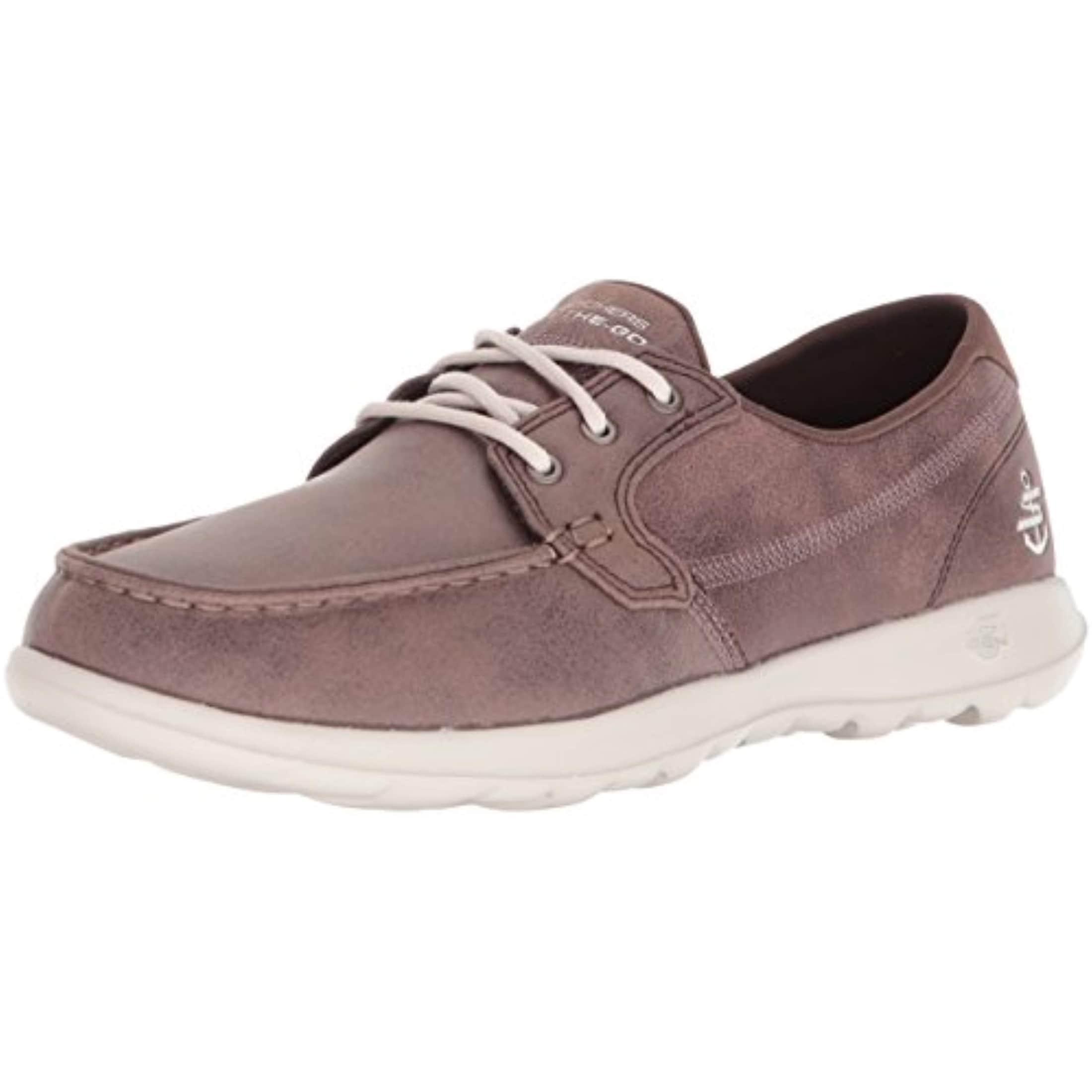 d0e2760c7162e Shop Skechers Performance Women's Go Walk Lite Boat Shoe,Brown - Free  Shipping Today - Overstock - 27121531