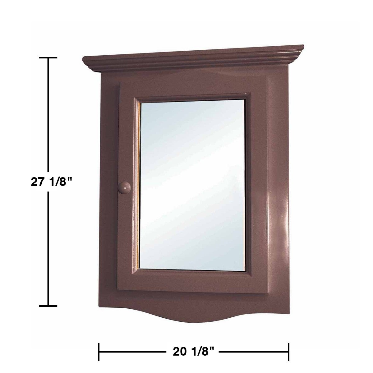 Shop Dark Oak Wall Mount Medicine Cabinet Corner With Mirror | Renovatoru0027s  Supply   Free Shipping Today   Overstock.com   12364163