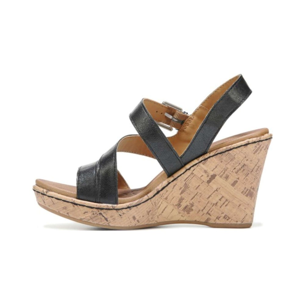 33936cfdb8b Shop B.O.C Womens Schirra Leather Open Toe Casual Platform Sandals - Free  Shipping On Orders Over  45 - Overstock - 14536894