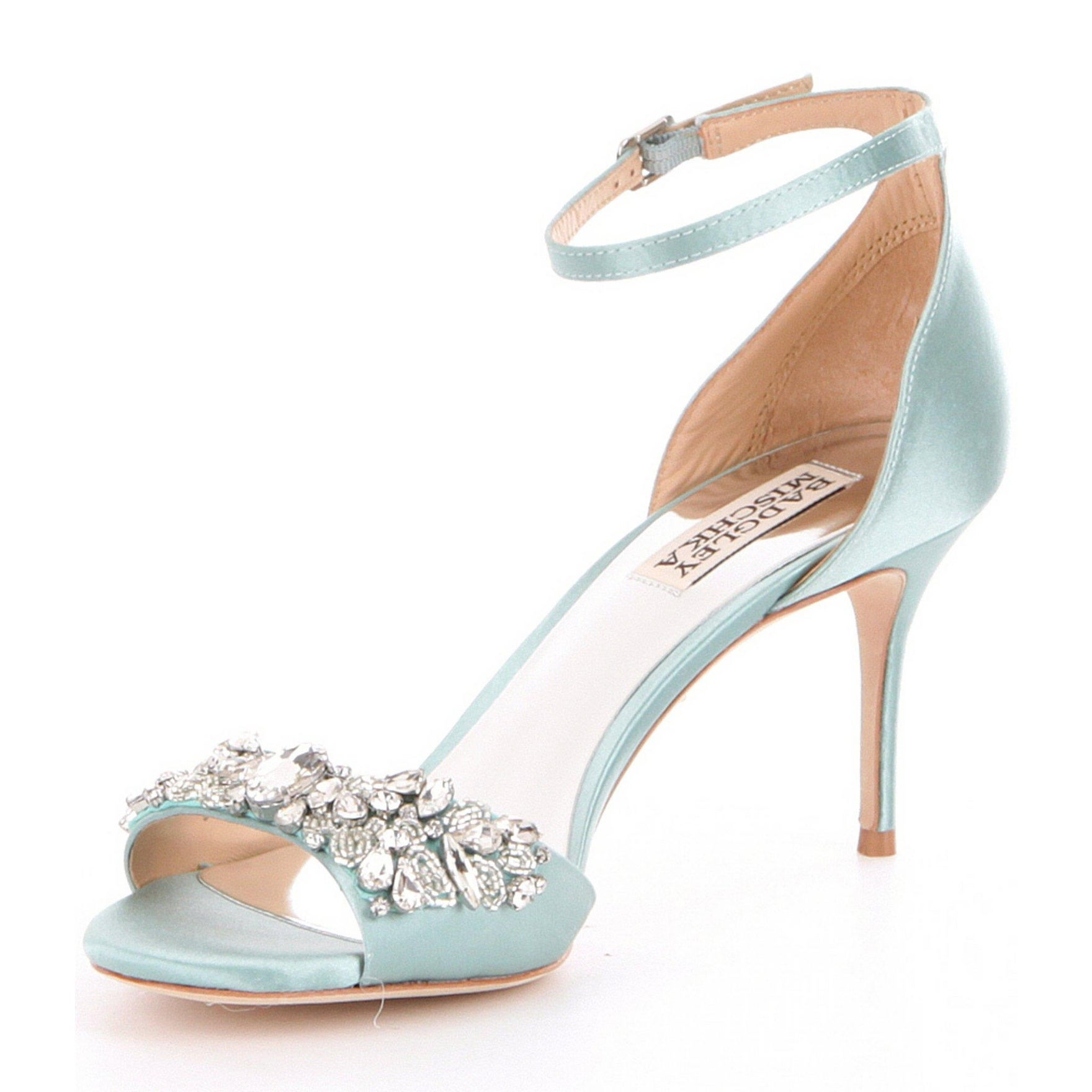 e61edbf50ed Shop BADGLEY MISCHKA Womens Bankston Open Toe Special Occasion Ankle Strap  Sandals - Free Shipping Today - Overstock - 17674663