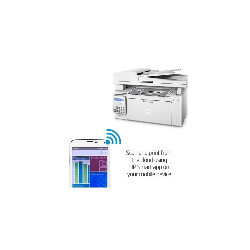 Shop HP LaserJet Pro MFP M130fn Multifunction Laser Printer w/ Manual  Duplex Printing - Free Shipping Today - Overstock.com - 15147236