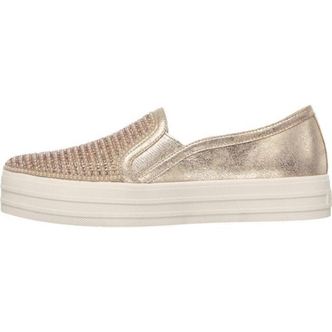 afd231883f10b Shop Skechers Women s OG 97 Double Up Shiny Dancer Slip On Sneaker Rose  Gold - Free Shipping Today - Overstock - 17142713