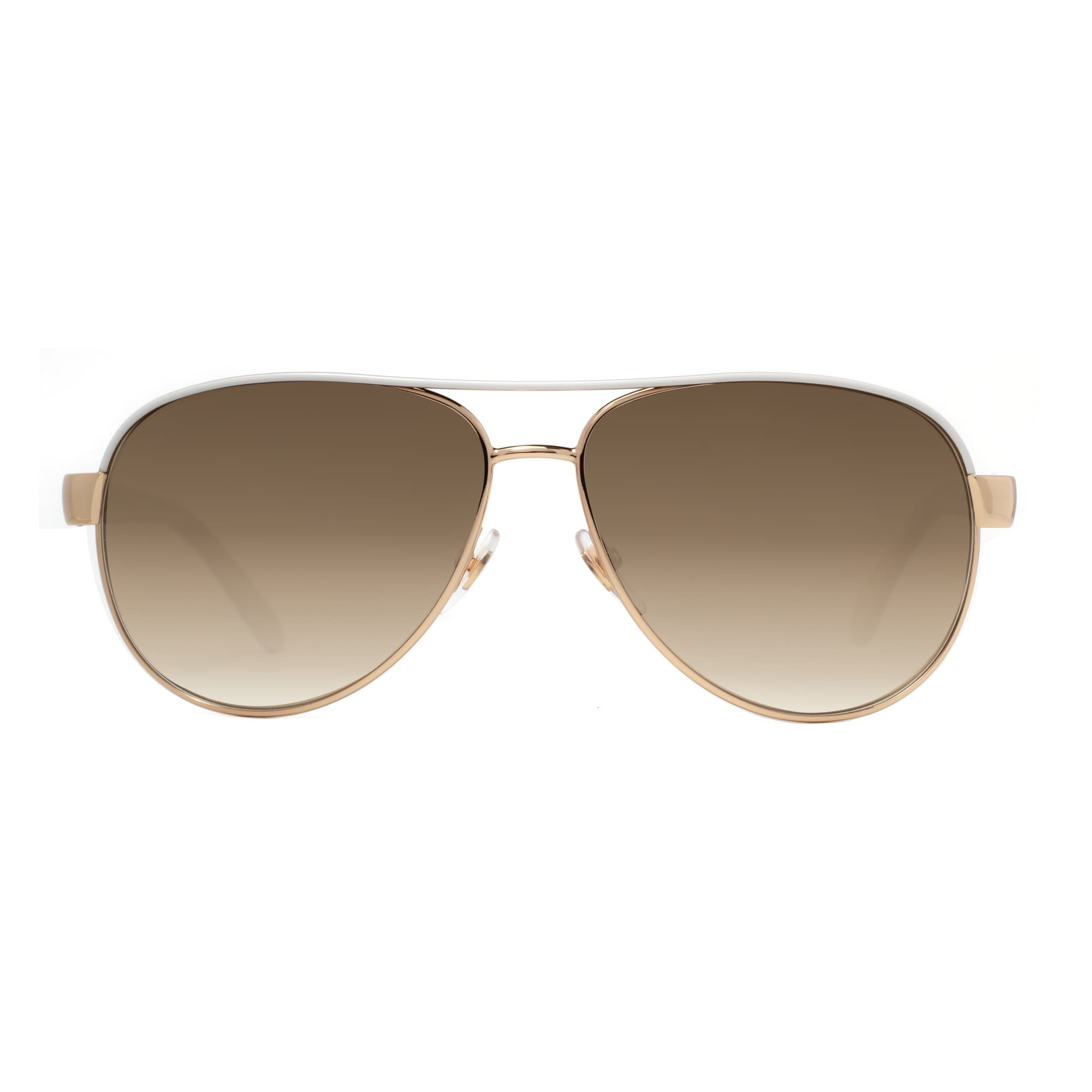 91b240d8020 Shop Gucci GG 4239 S DZB ED Ivory Gold Brown Gradient Women s Aviator  Sunglasses - ivory white gold - 58mm-13mm-135mm - Free Shipping Today -  Overstock - ...
