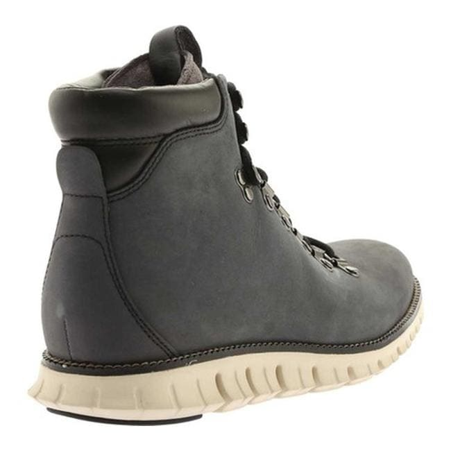 a33ff4007814 Shop Cole Haan Men s ZEROGRAND Water Resistant Hiker Boot II Gray  Pinstripe Ivory - On Sale - Free Shipping Today - Overstock - 18538707