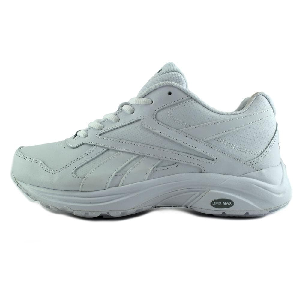 c753ce873b3c Shop Reebok Walk Ultra V DMX MAX Women W Round Toe Synthetic White Walking  Shoe - Free Shipping On Orders Over  45 - Overstock - 15287793
