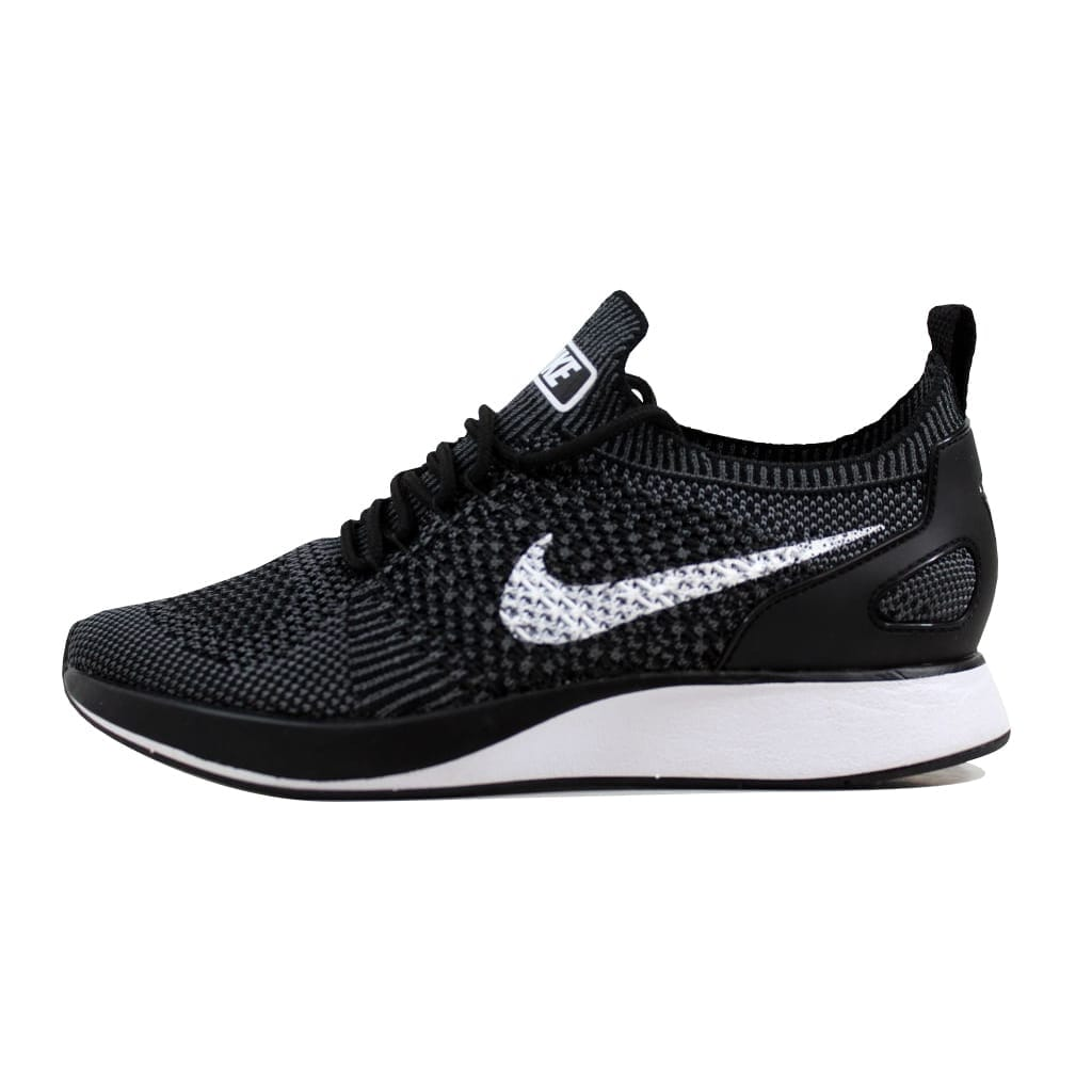 8a5efe036e8cb Shop Nike Women s Air Zoom Mariah Flyknit Racer Premium Black White-Dark  Grey 917658-002 - Free Shipping Today - Overstock - 21893665