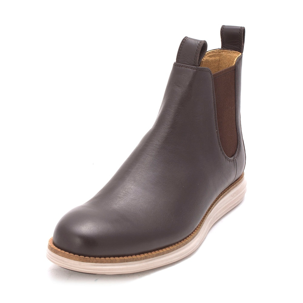 c30e4fd3427 Cole Haan Mens Original Grand Chelsea Boot Closed Toe Ankle Chelsea Boots