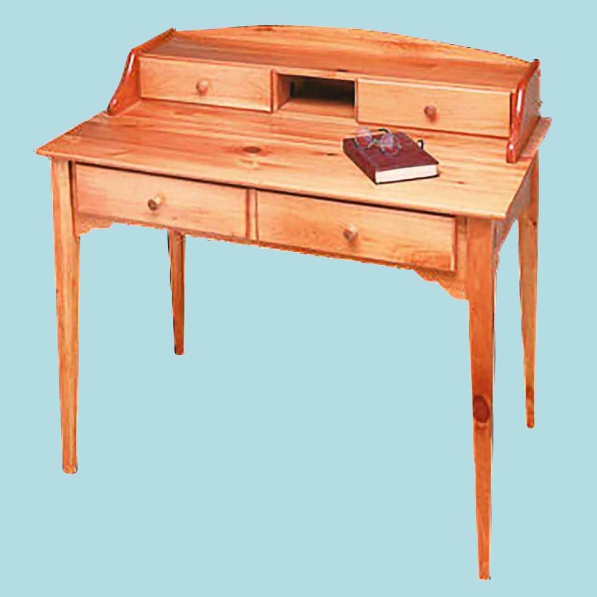 Desk Mission Honey Solid Pine Renovator S Supply