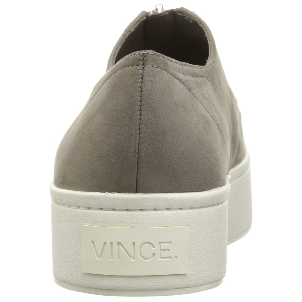 b2660a7ceff94 Vince Womens Warner Leather Low Top Zipper Fashion Sneakers - 5.5