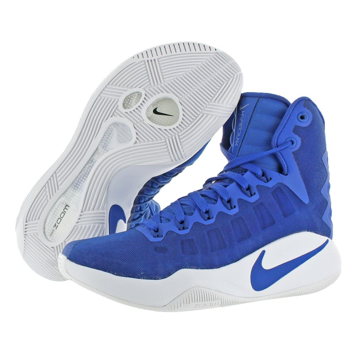 Shop Nike Womens Hyperdunk 2016 TB Basketball Shoes Nike Zoom Mid Top -  Free Shipping Today - Overstock - 21803225 a087c38b3