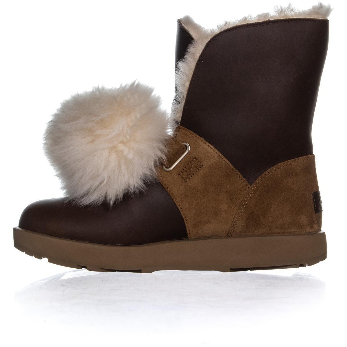 77c7f943315 UGG Isley Waterproof Winter Boots, Chestnut - 8.5 us / 39.5 eu