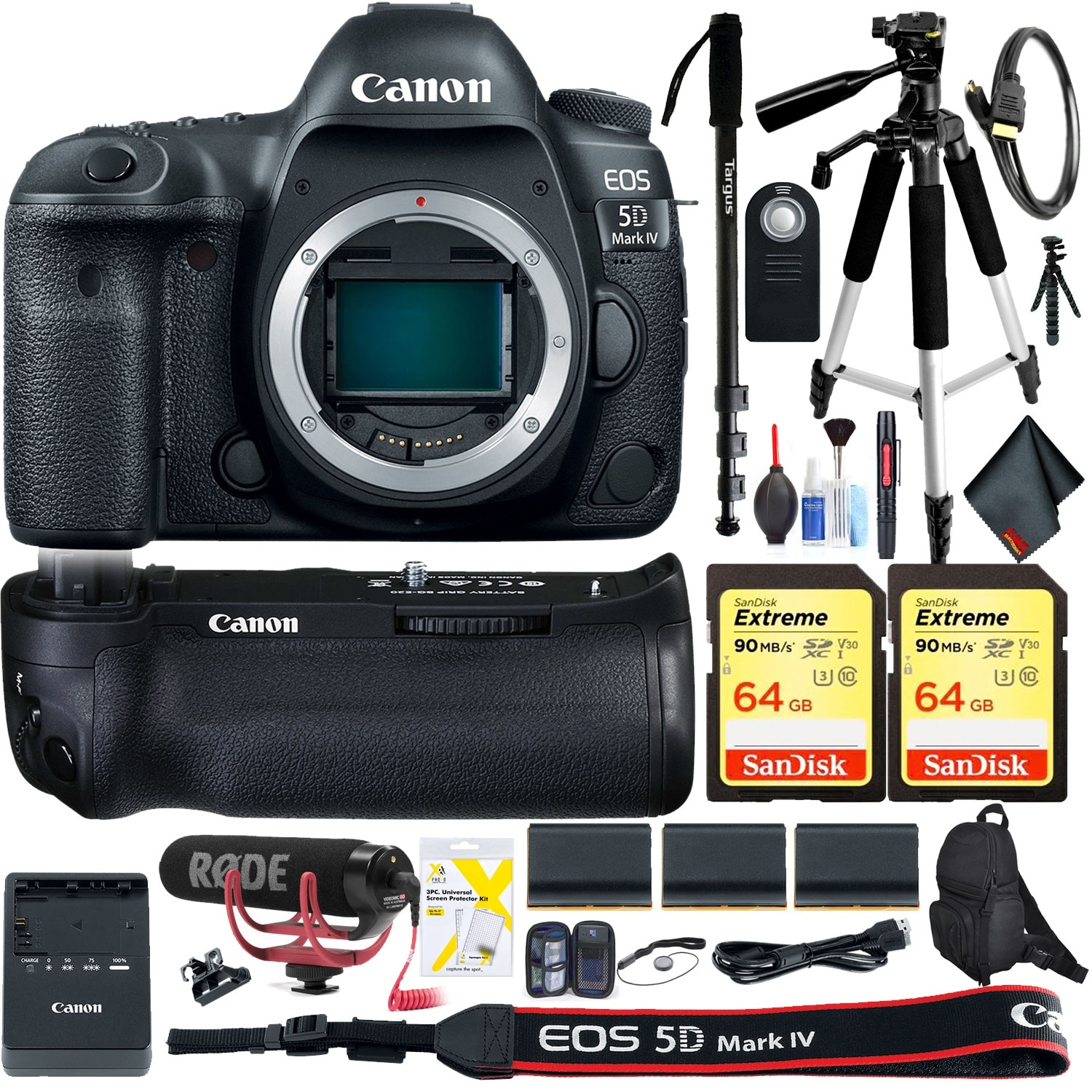Shop Canon Eos 5d Mark Iv Dslr Camera Body Only Accessory Kit Intl 4 Model Free Shipping Today 23124907