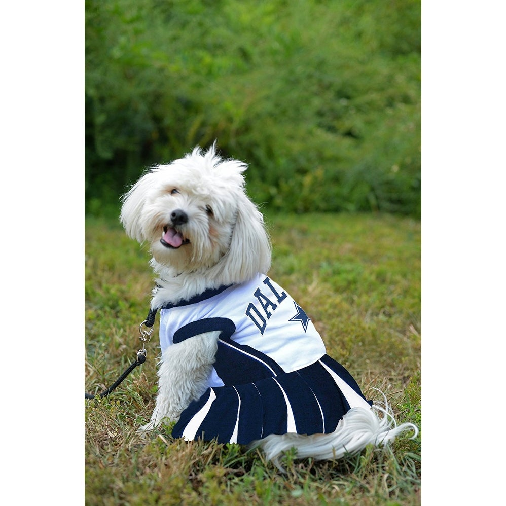 91cad3836 Shop NFL Dallas Cowboys Cheerleader Dress For Dogs And Cats - On Sale -  Free Shipping On Orders Over  45 - Overstock - 19991359