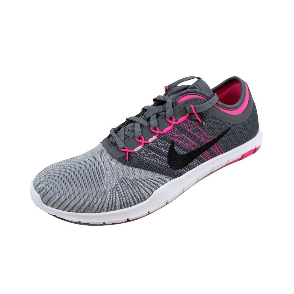 02c5cbf4277e Shop Nike Women s Flex Adapt TR Wolf Grey Black-Cool Grey 831579-003 ...