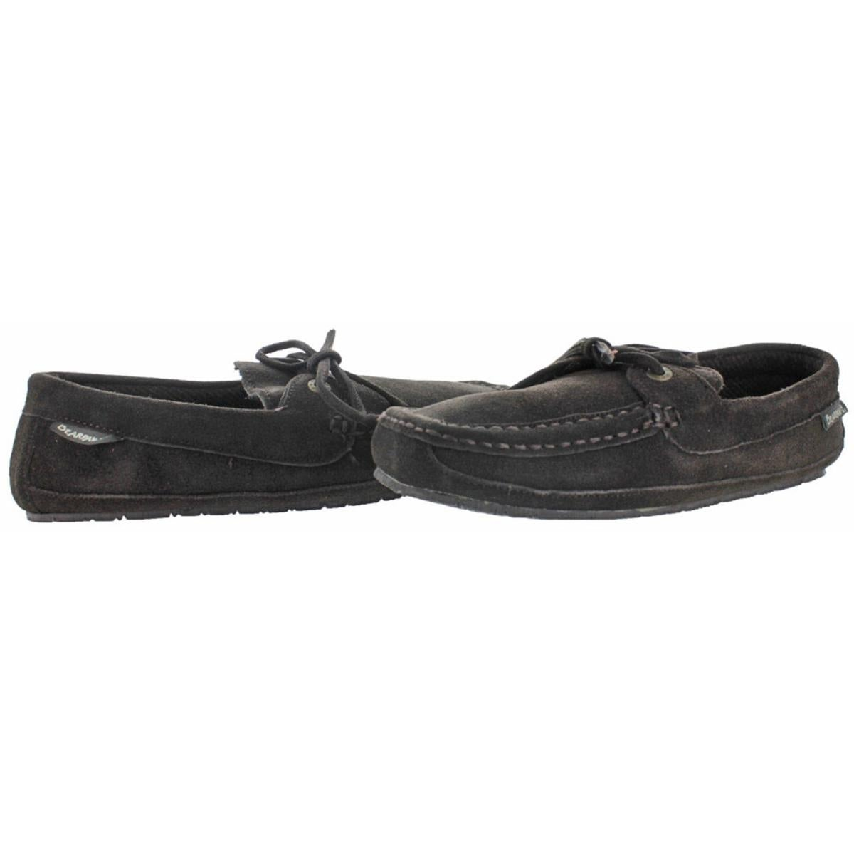 e9ccfc3885f0 Shop Bearpaw Mens Luke Moccasin Slippers Suede Wool Lined - Free Shipping  On Orders Over  45 - Overstock - 23613785