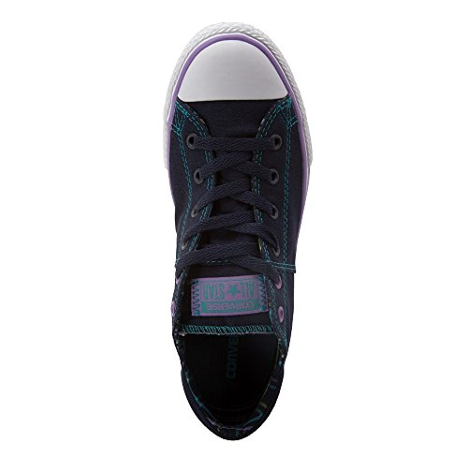 72446a7a2501 Shop Converse Kid s Chuck Taylor All Star Madison Ox Fashion Sneaker Shoe -  Obsidian White Frozen Lilac - Boys - 4 Big Kid M - Free Shipping Today ...