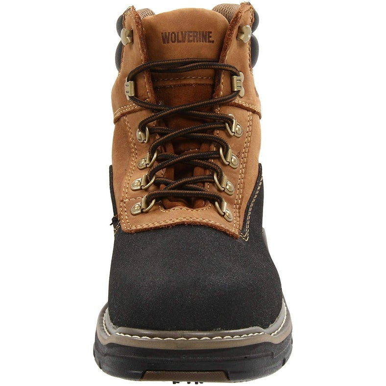 a93ffd52bbf Wolverine Mens Corsair Leather Composite toe Lace Up Safety Shoes