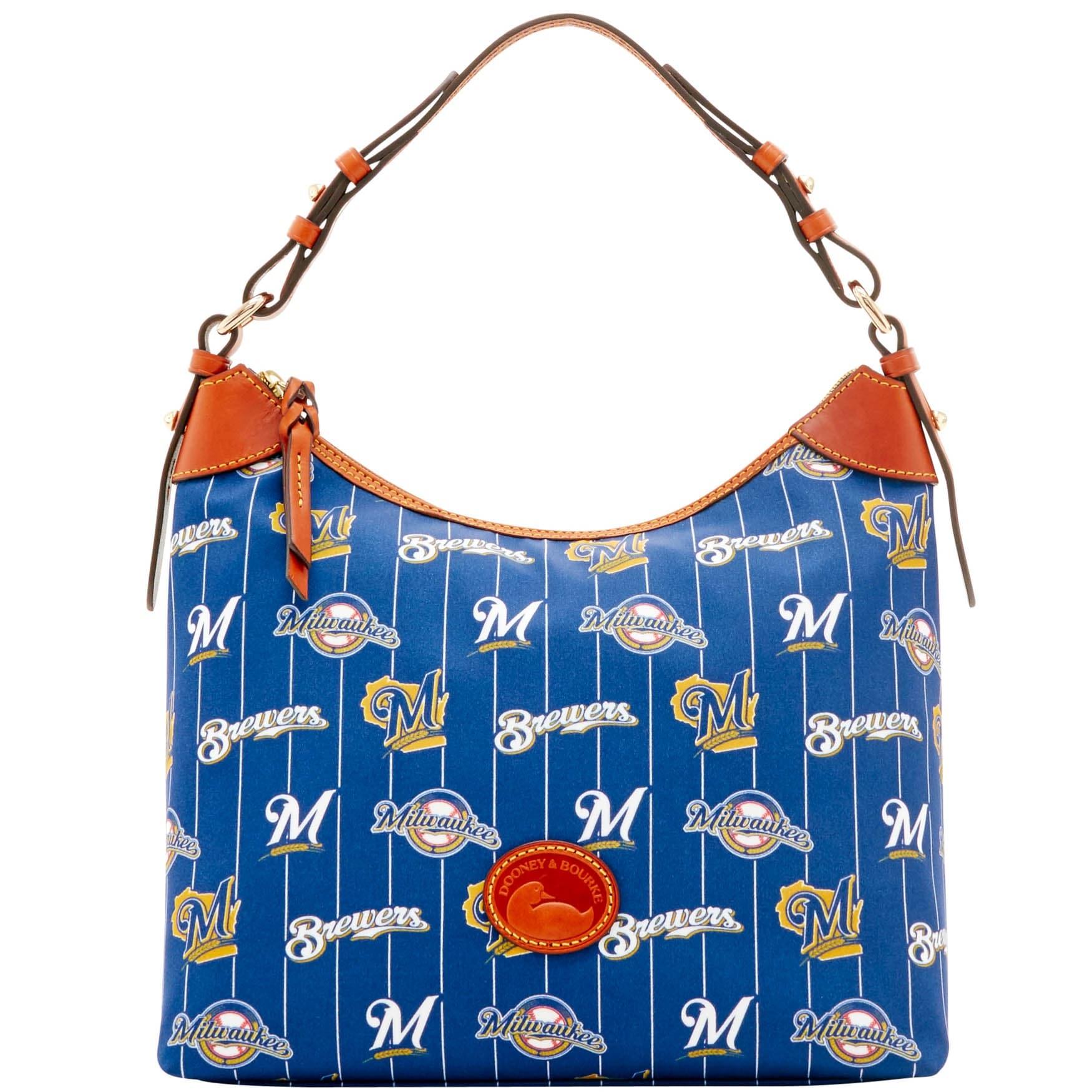 Shop Dooney & Bourke MLB Milwaukee Brewers Large Erica (Introduced ...