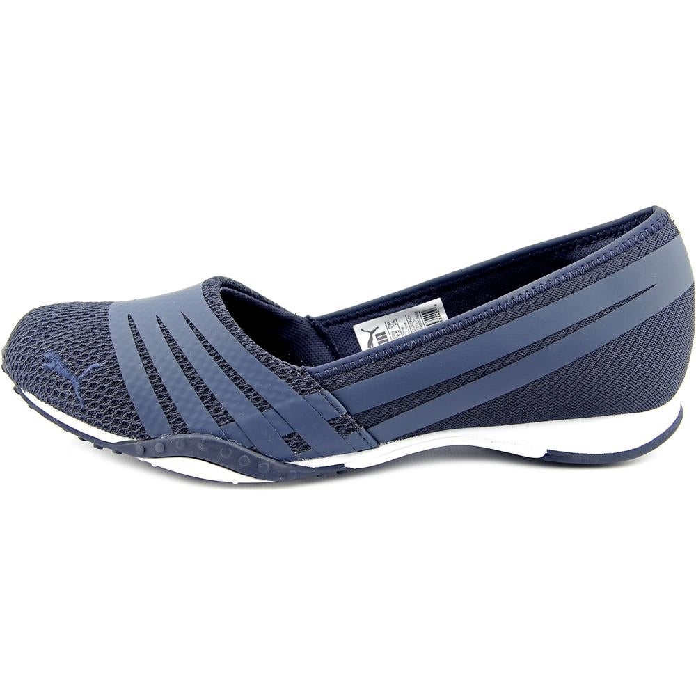 cbba6eabe4e0 Shop Puma Asha Alt 2 Heather Women Round Toe Canvas Blue Flats - Free  Shipping Today - Overstock - 14241259