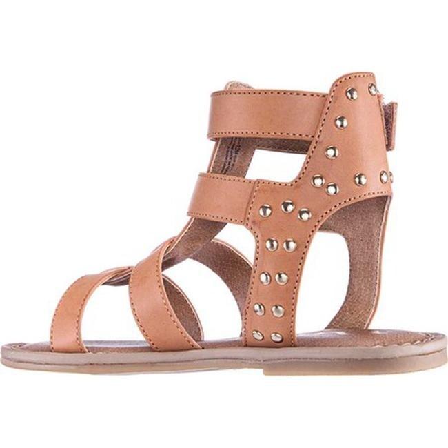 29abbd02677 Shop Nina Girls  Brunilda Gladiator Sandal Tan Smooth Synthetic - Free  Shipping Today - Overstock - 27347834