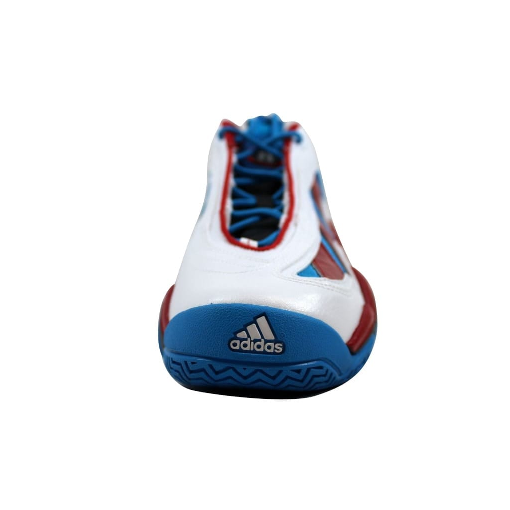 buy popular d204e 3973c Shop Adidas Mens Crazy 97 WhiteLight Scarlet Red-Blue Jrue Holiday G98307  Size 11.5 - Free Shipping Today - Overstock - 21892922