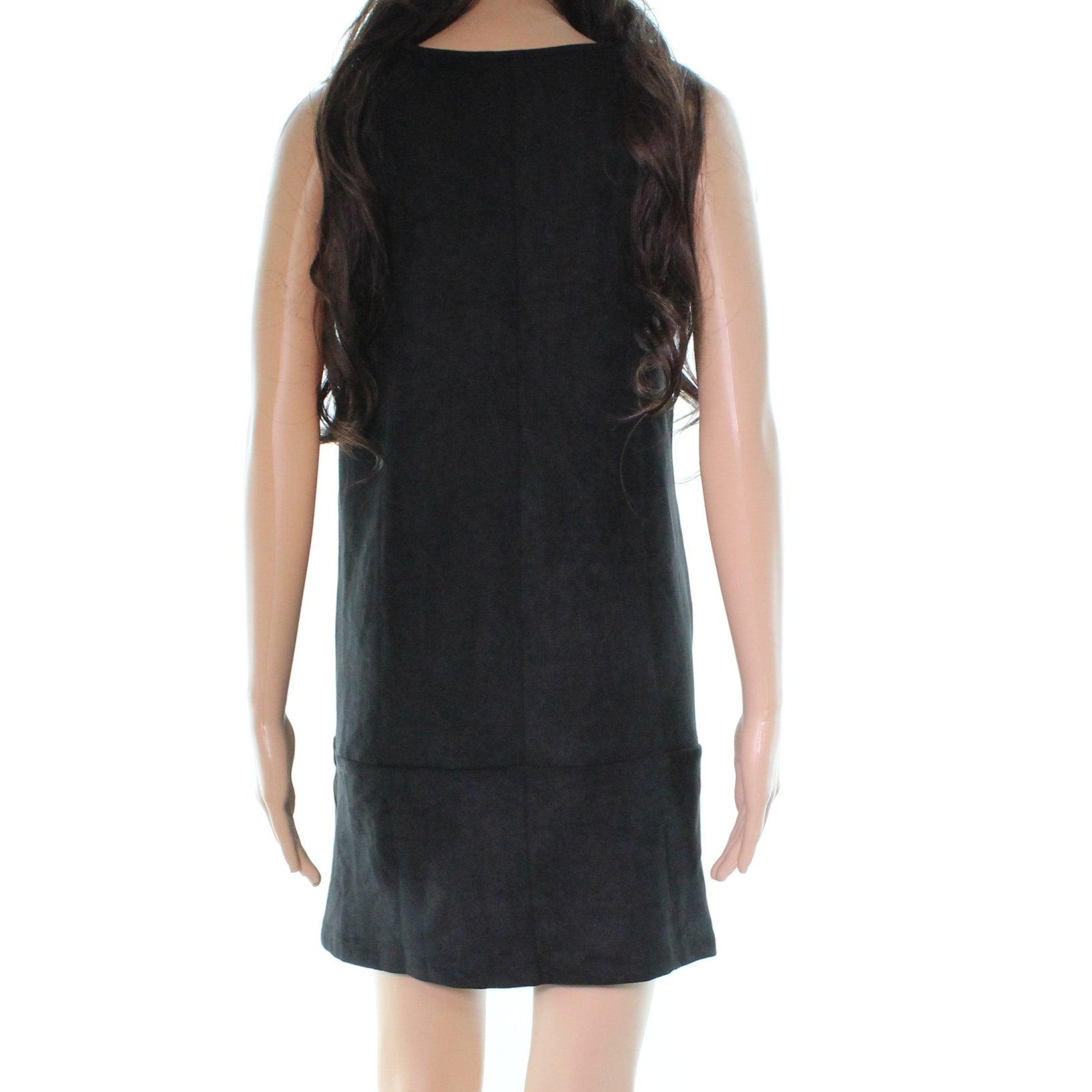 f785a5231a34 Shop Bishop + Young Faux Suede Women s Small Shift Dress - Free Shipping  Today - Overstock - 27986159