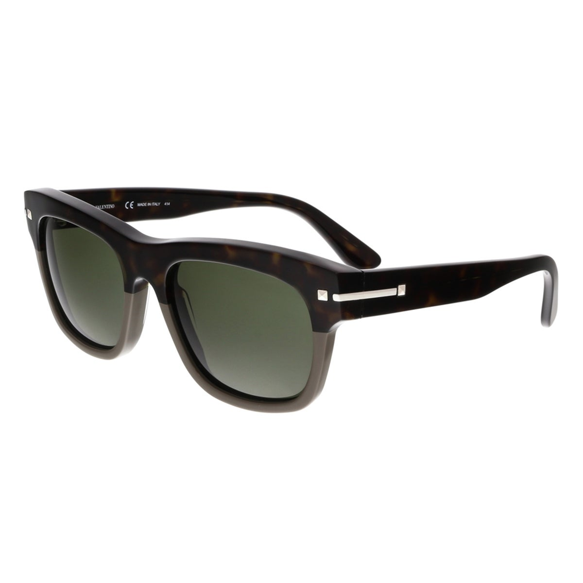 be9a9bcb3ec Shop Valentino V703S 245 Dark Havana Wayfarer Sunglasses - 53-19-145 ...