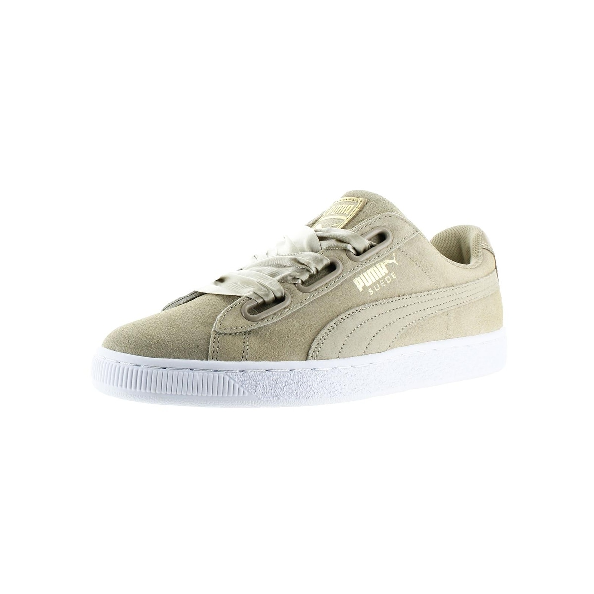 new style 2c46a 72ed3 Puma Womens Suede Heart Safari Fashion Sneakers Low Top Casual