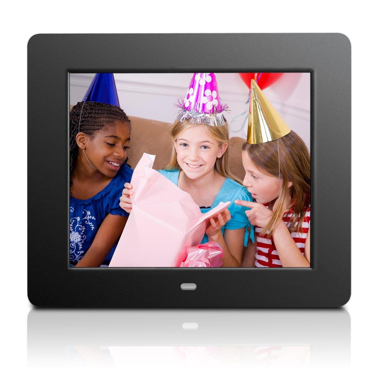 Aluratek Admpf108f 8-Inch Hi-Res Digital Photo Frame With 512Mb ...
