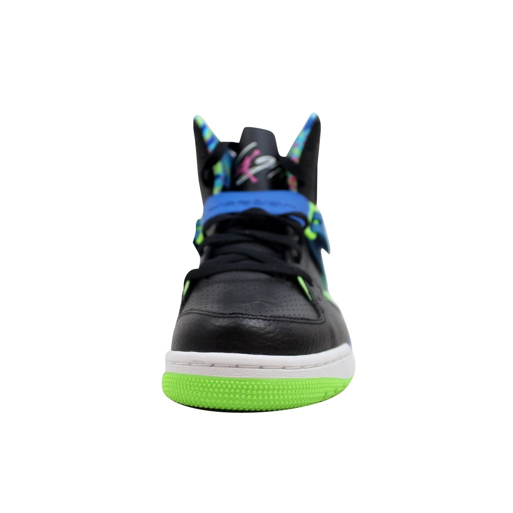 6a5ee5d30 Shop Nike Men s Air Jordan Flight 45 High Black Club Pink-Game Royal-Flash  Lime 616816-029 - Free Shipping Today - Overstock - 20129703