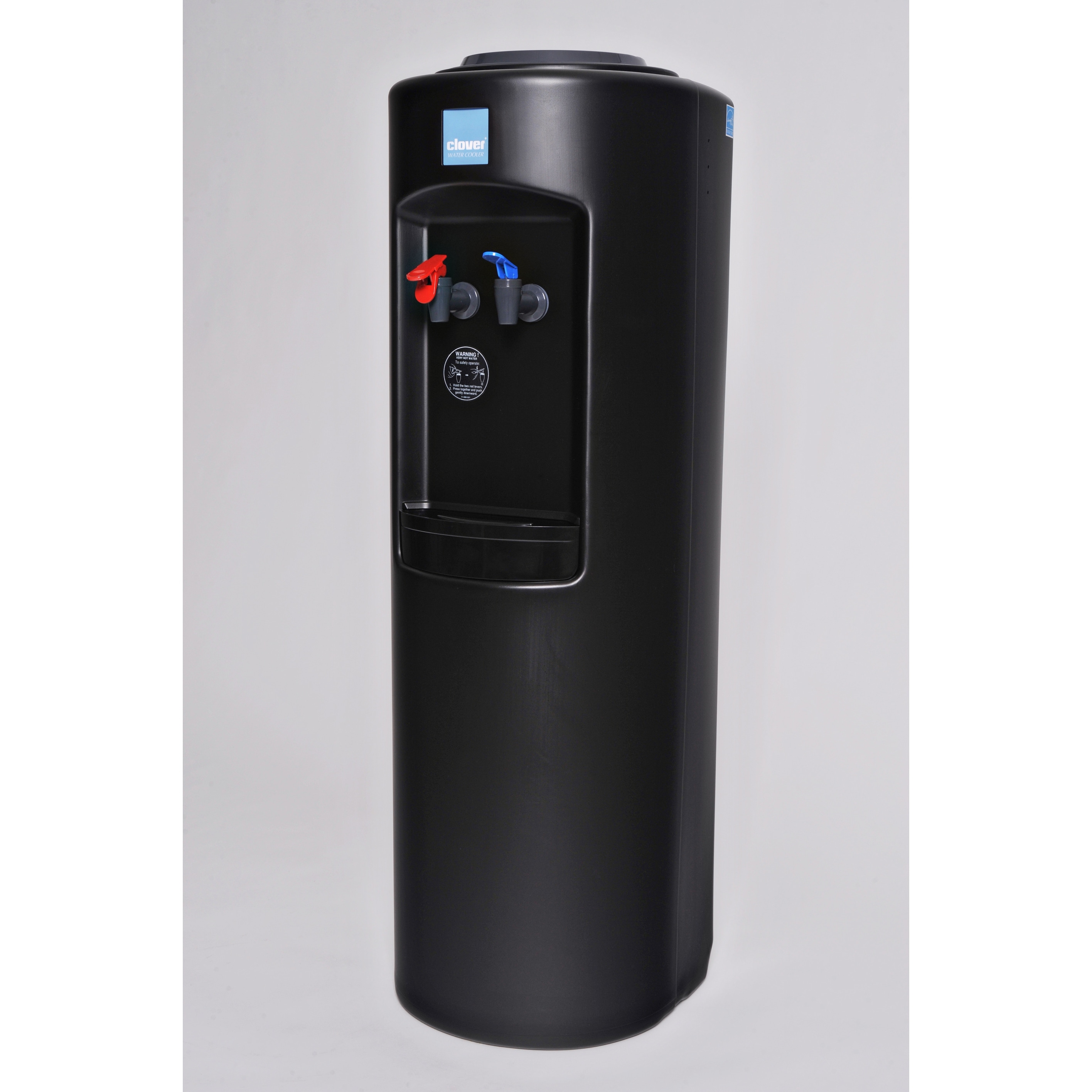 Shop Clover B7A-Black Hot and Cold Water Dispenser in Black - Free ...