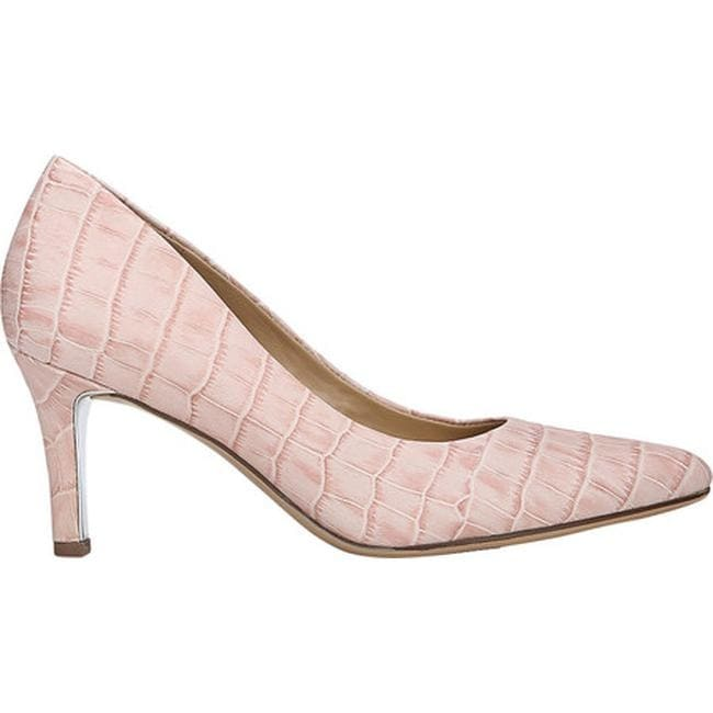 fe909971309 Naturalizer Women's Natalie Pump Pink Croc Print Leather