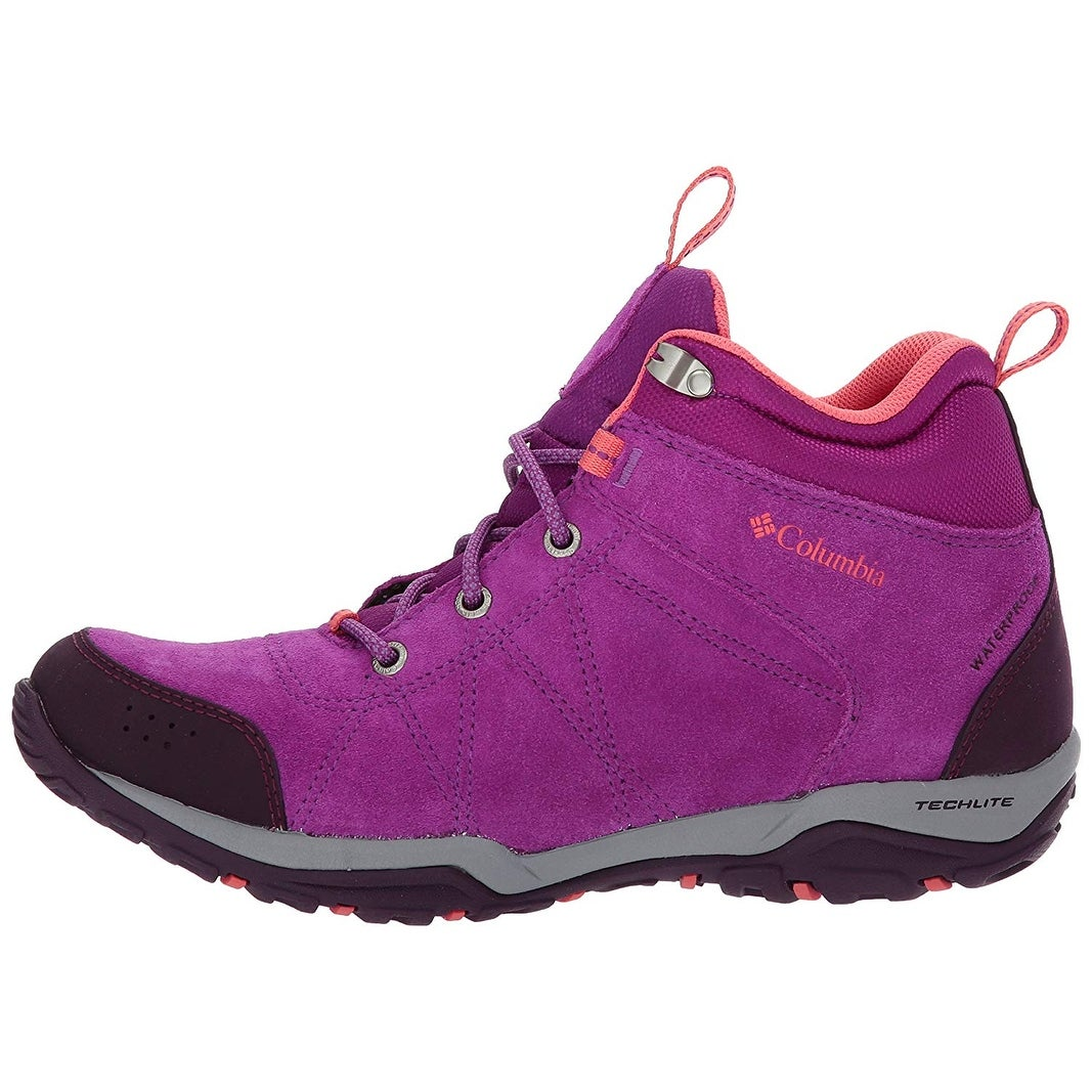 eb794f7b0635 Shop Columbia Women s Fire Venture Mid Waterproof Hiking Boot - Free  Shipping Today - Overstock - 21154476