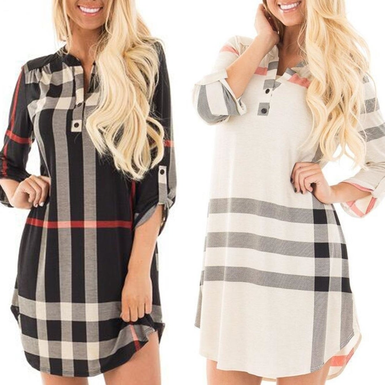 0884083e15 Shop Londonite Shirt In Playful Plaids - Free Shipping On Orders ...