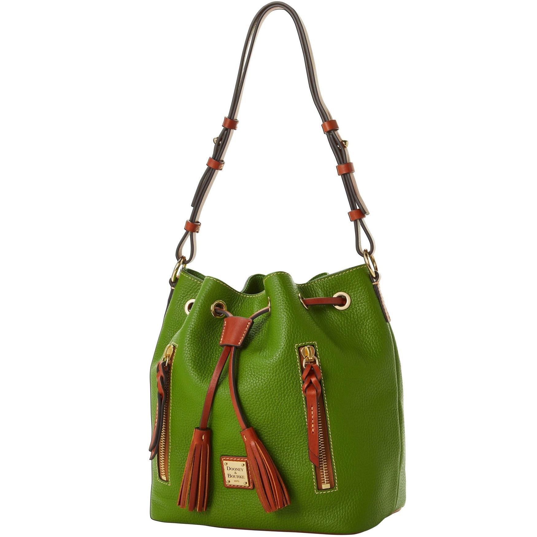 e05d1881353900 Dooney & Bourke Pebble Grain Cooper Drawstring Shoulder Bag (Introduced by  Dooney & Bourke in )