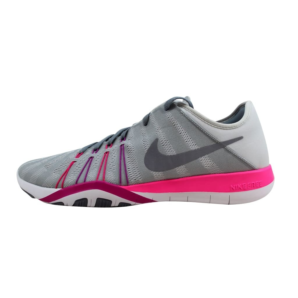 new styles 33038 24f7f Shop Nike Women s Free TR 6 Pure Platinum Stealth 833413-006 - Free  Shipping Today - Overstock - 23436867