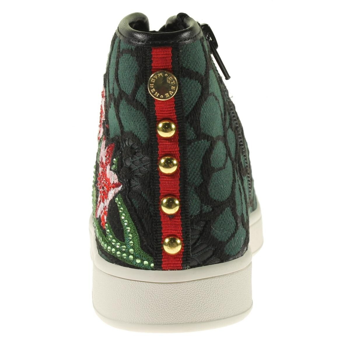 a99e0e16de5 Shop Steve Madden Womens Allie Fashion Sneakers Faux Leather Embroidered -  Free Shipping On Orders Over  45 - Overstock.com - 20199730