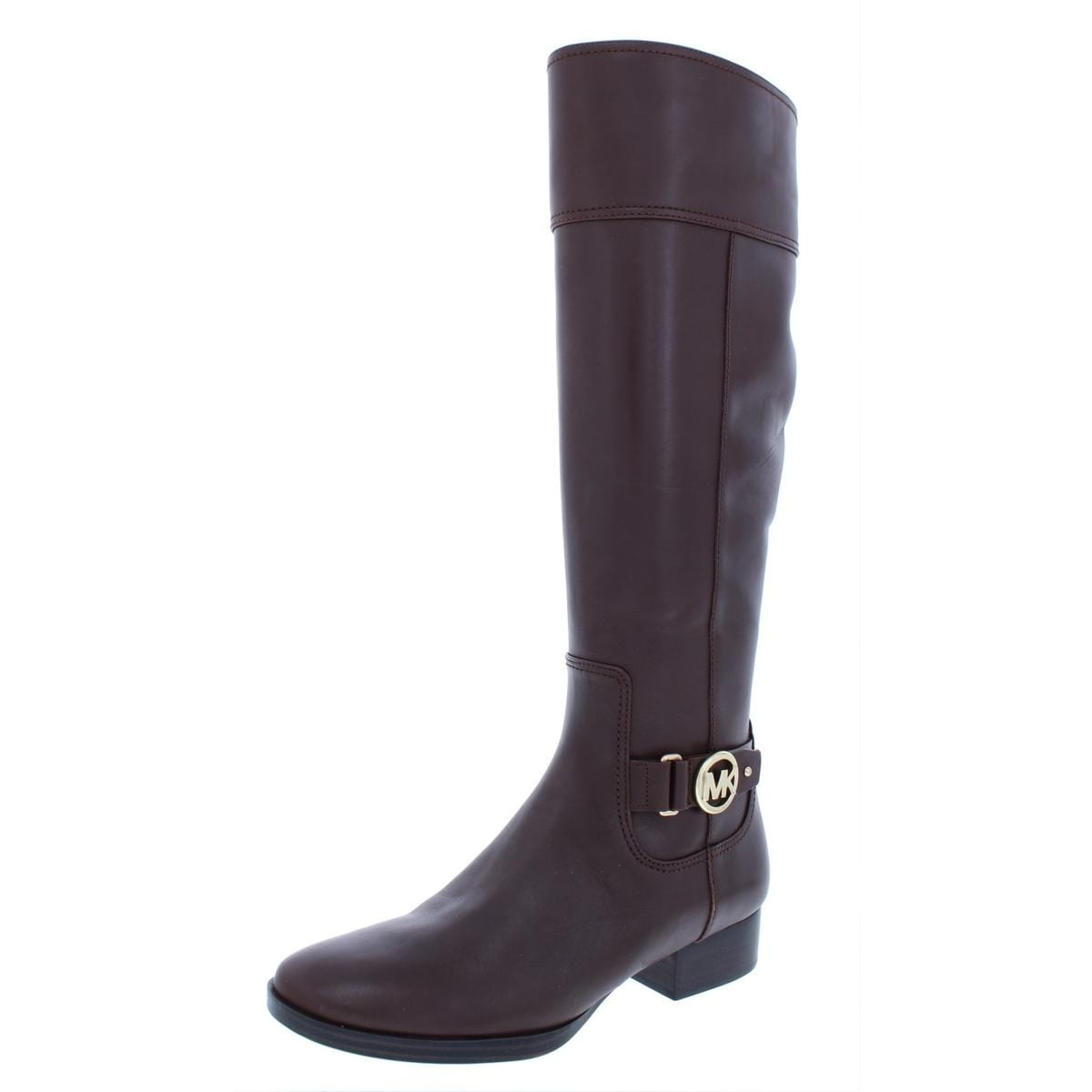 552d25a5a Shop MICHAEL Michael Kors Womens Harland Riding Boots Leather Knee High -  Free Shipping Today - Overstock - 23536088