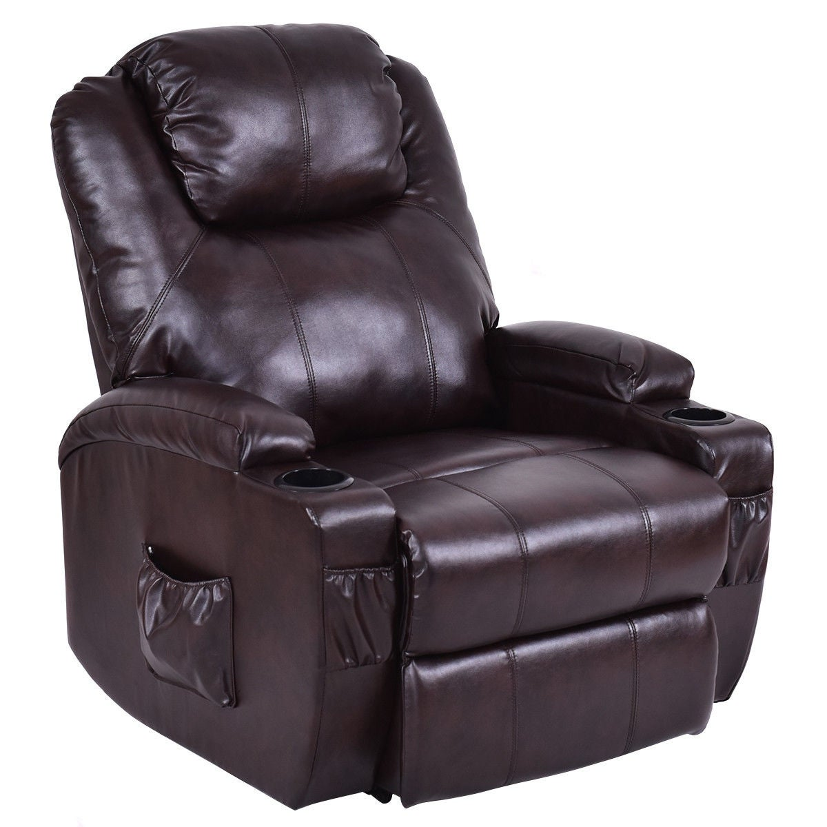 Shop Costway Lift Chair Electric Power Recliner w/Remote and Cup Holder Living Room Furniture - Free Shipping Today - Overstock.com - 18502750  sc 1 st  Overstock.com & Shop Costway Lift Chair Electric Power Recliner w/Remote and Cup ...