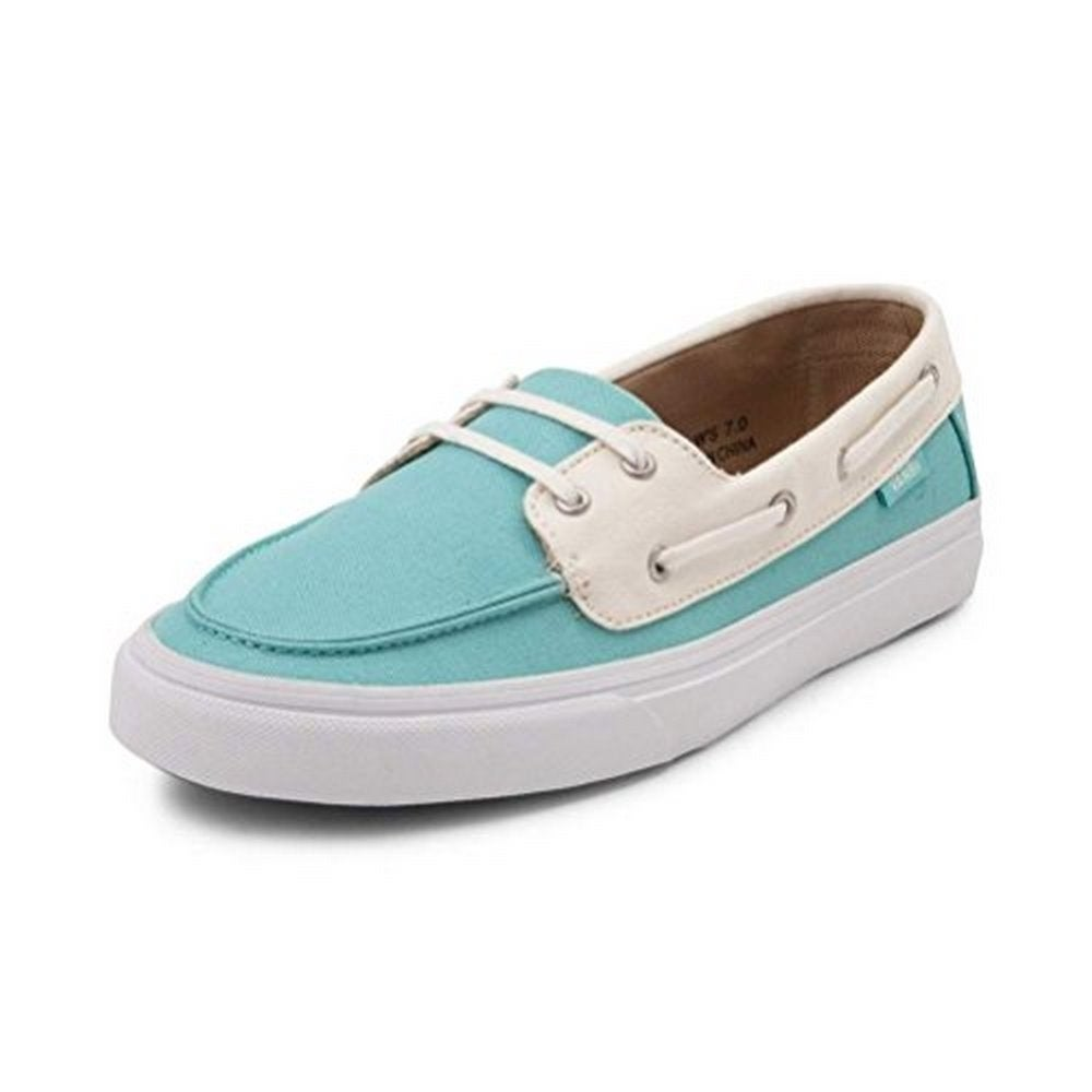 a21ae859d0 Shop Vans Womens Chauffette Sf, Aqua Sea/White, 6.5 - Free Shipping Today -  Overstock - 20247362