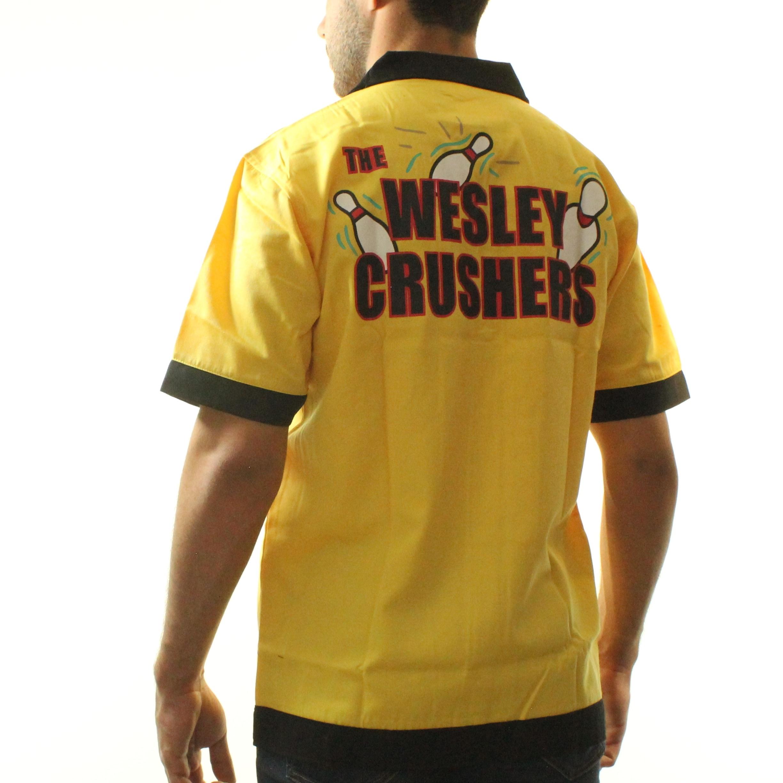 The Big Bang Theory Wesley Crushers Men\'s Yellow Bowling ShirtPolo ...